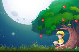 De jongen en de appelboom